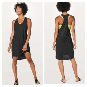 Lululemon Rejuvenate Dress Black